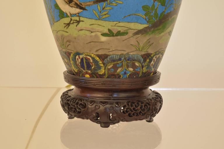Cloisonné Lamp 5