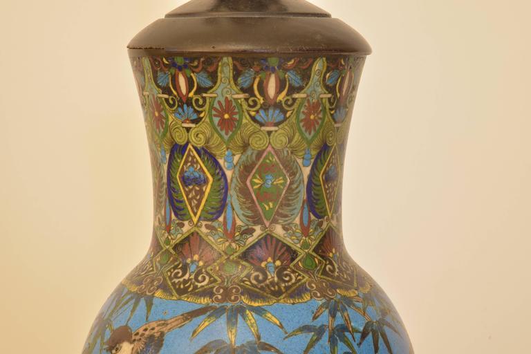 Cloisonné Lamp 4