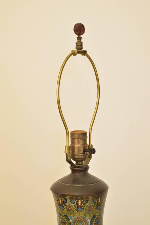 Cloisonné Lamp 6