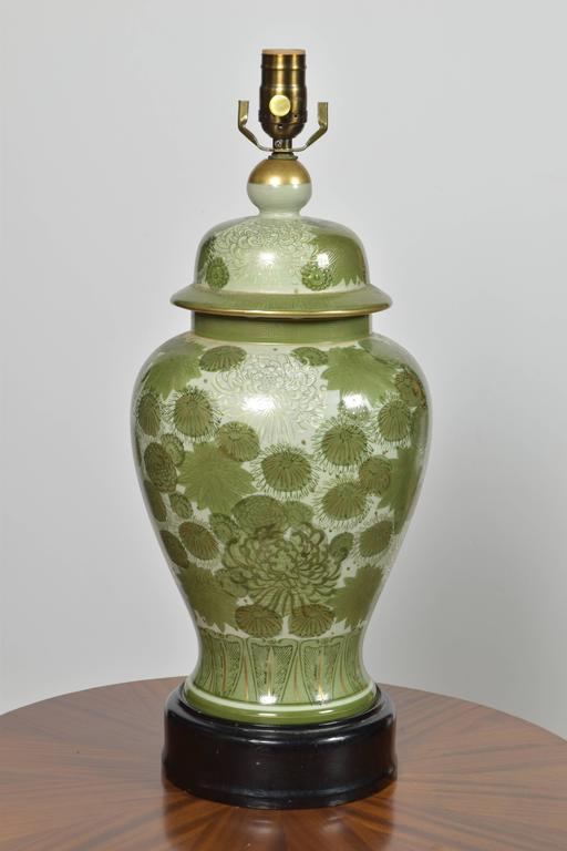 Vintage Japanese Kutani Lamp For Sale At 1stdibs