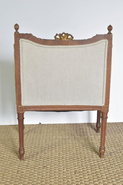 Petite French Side Chair At 1stdibs