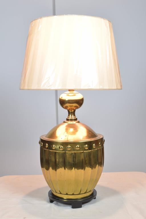 Pair Brass Stiffel Lamps Circa 1970s For Sale At 1stdibs