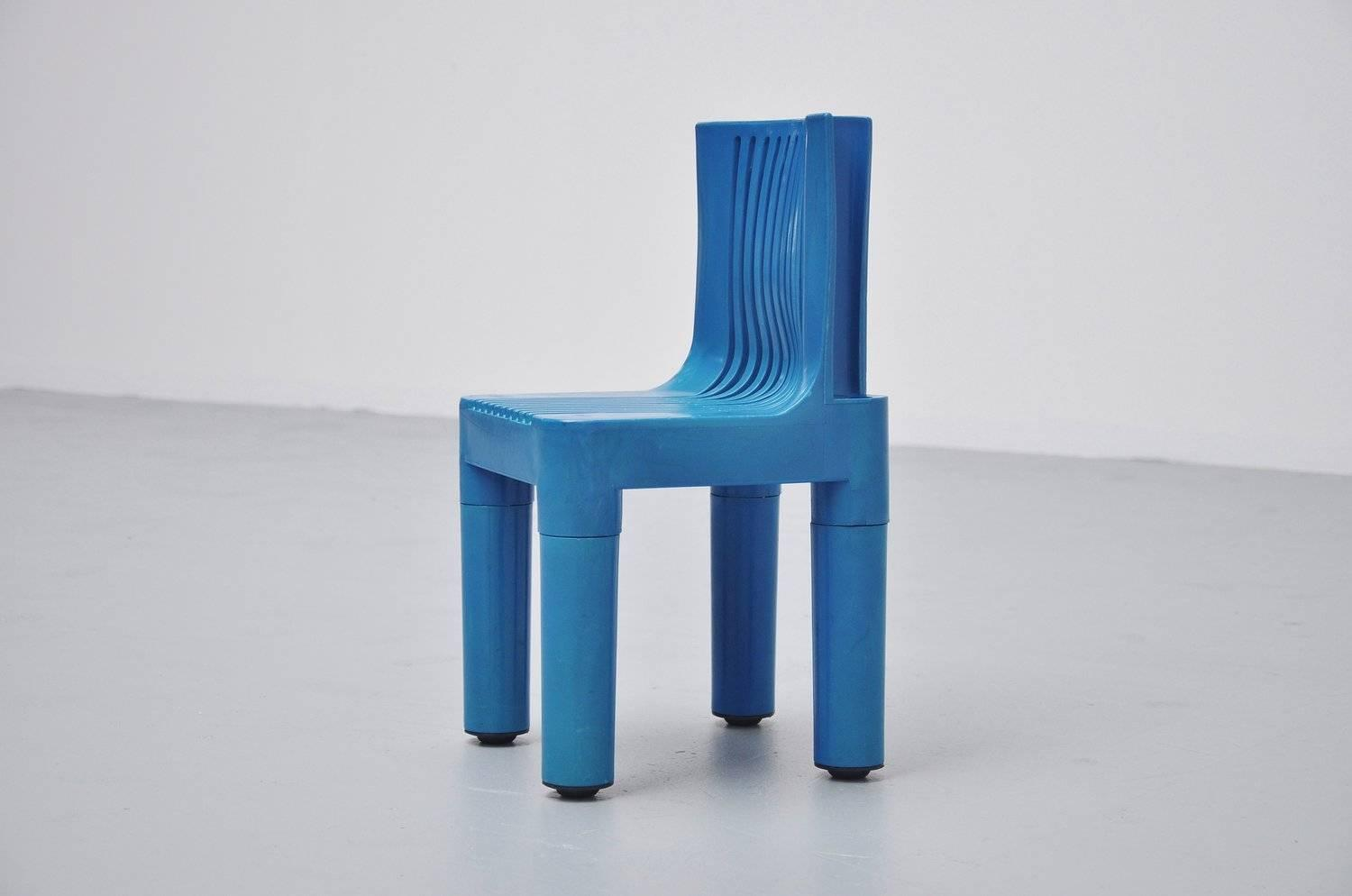 Marco Zanuso Plastic Kids Children 39 S Chair Kartell 1964 For Sale At 1stdibs