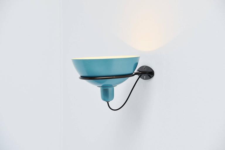 Aluminum Gino Sarfatti Wall Lamp Model 2/2 Arteluce, 1960 For Sale