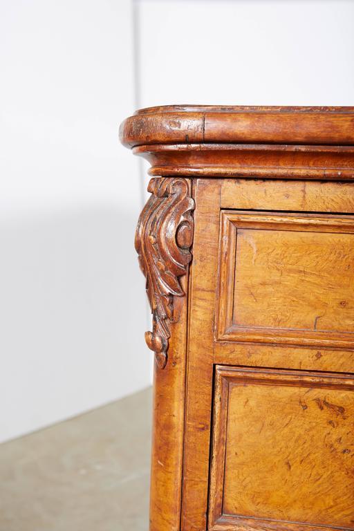 19th Century Large William IV Walnut Partners Desk For Sale
