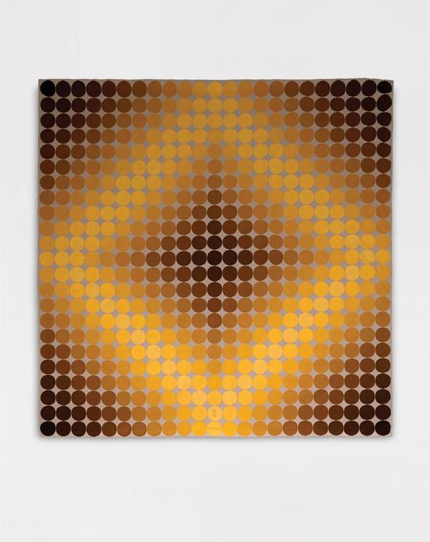 "Victor Vasarely ""Dia-Or"" Tapestry 3"