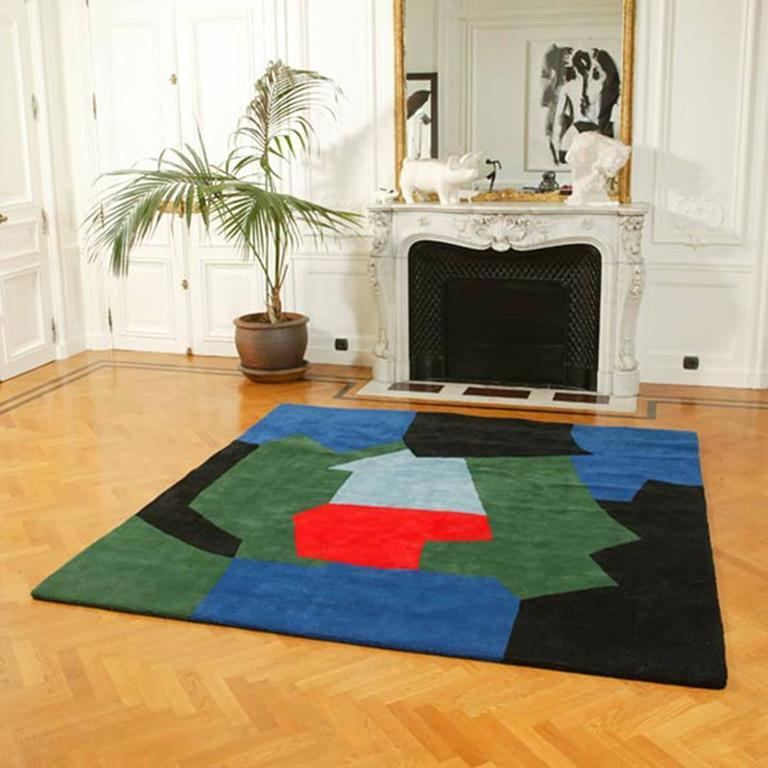 Serge Poliakoff carpet, France 3