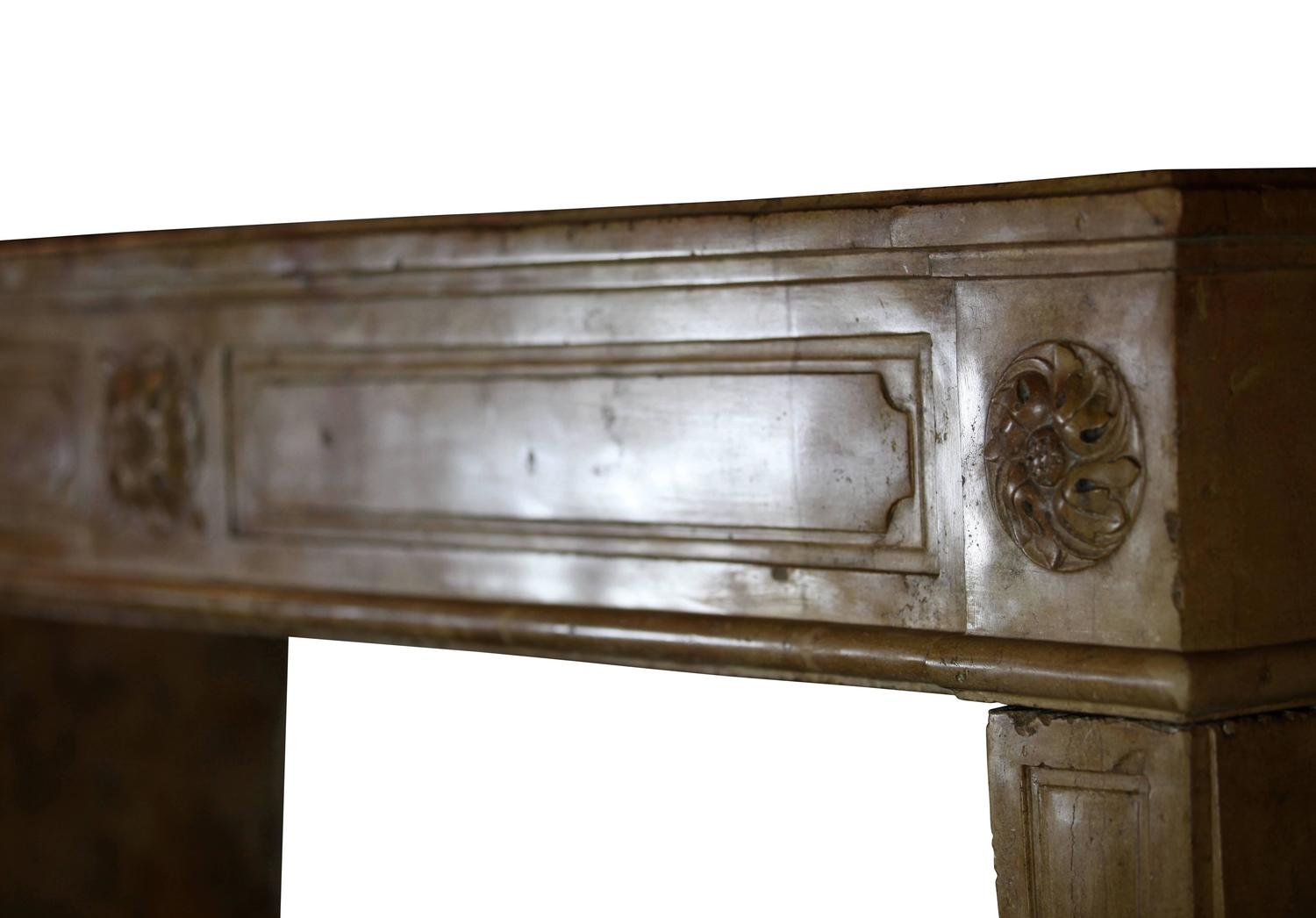 18th century original antique french country fireplace for French country stone fireplace