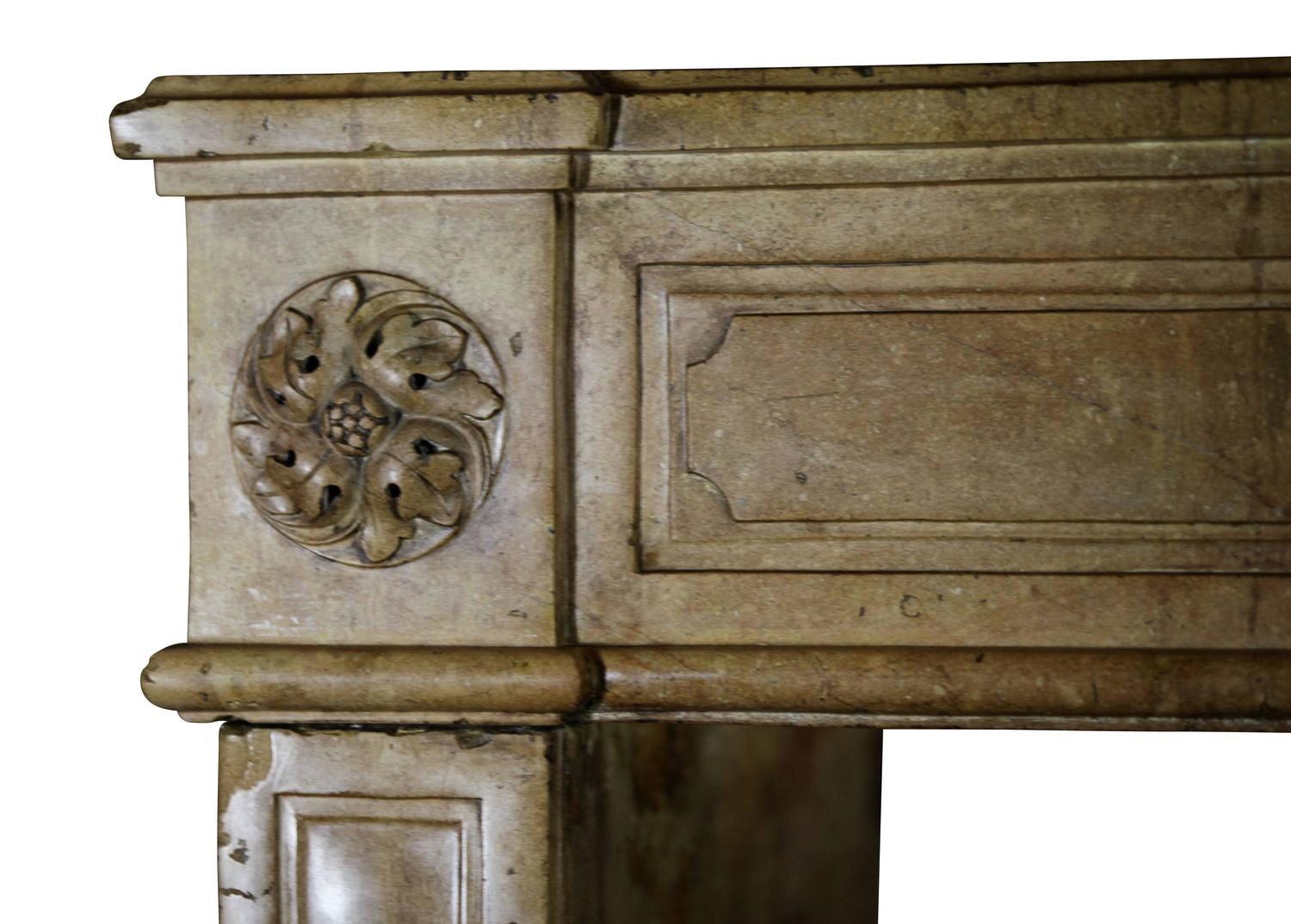 18th Century Original Antique French Country Fireplace Mantel For Sale At 1stdibs
