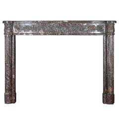 18th Century Fine Antique French Fireplace Mantel from the Louis XVI Period