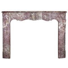 18tes Jahrhundert feine italienische antike Kamin-Kaminsimses