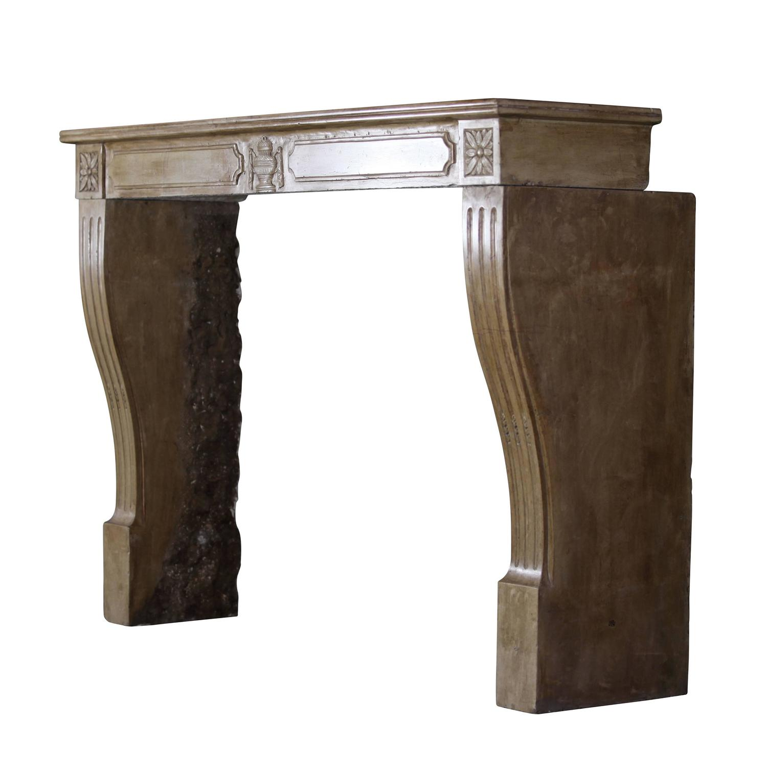 19th century directoire hard stone antique fireplace mantel at 1stdibs