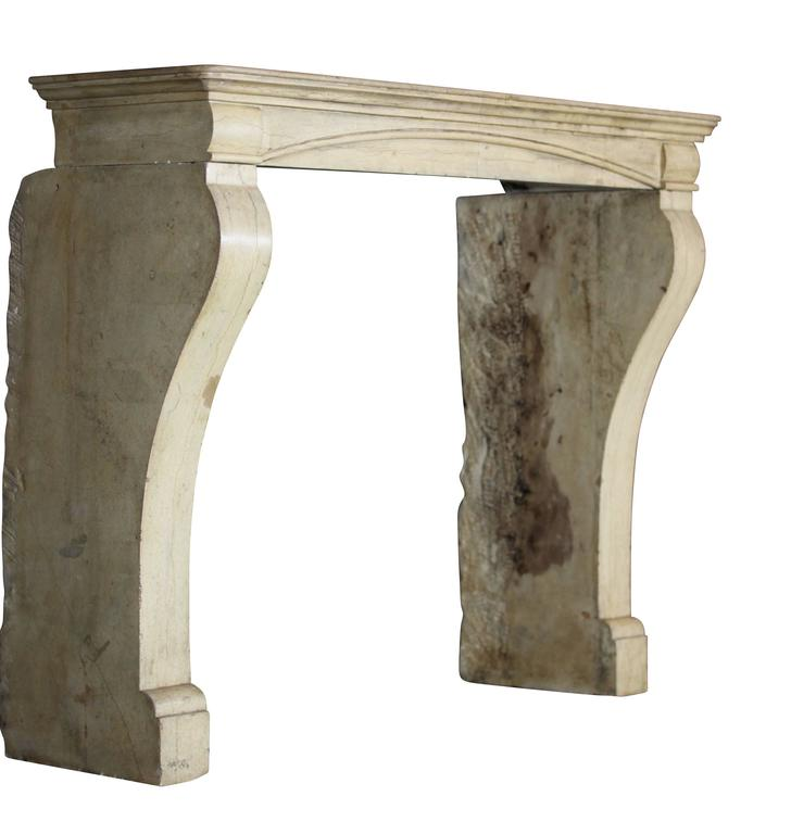 19th Century Hard Stone Antique Fireplace Mantel For Sale At 1stdibs