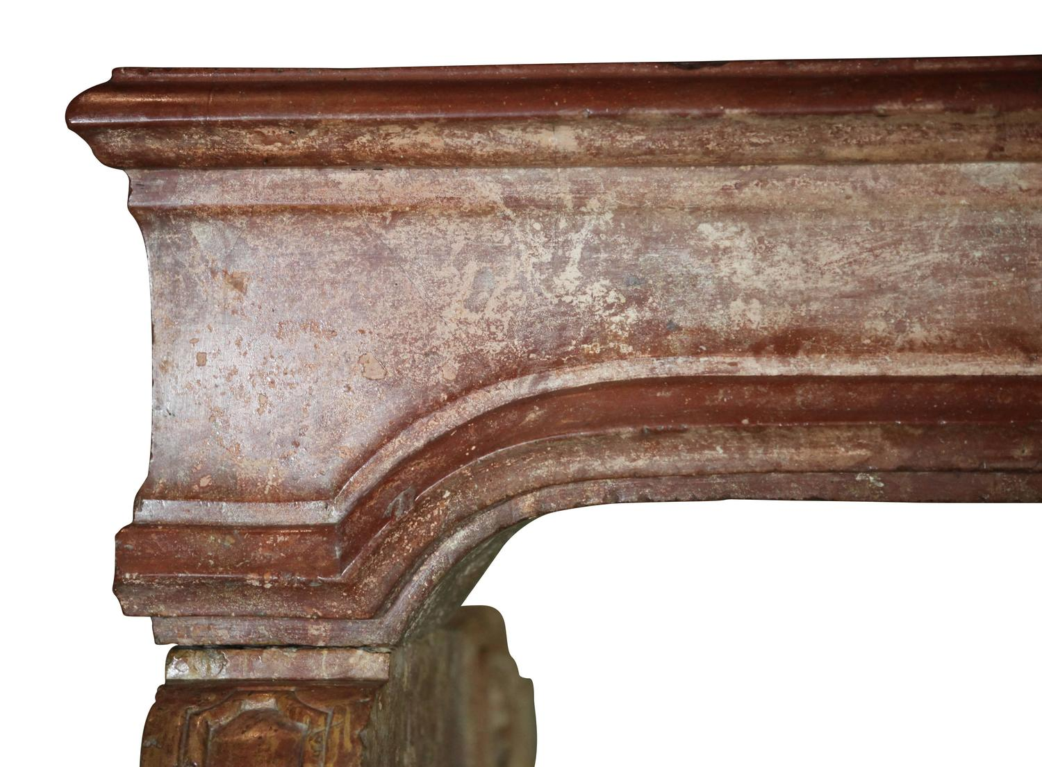 18th Century Italian Antique Fireplace Mantel For Sale At 1stdibs