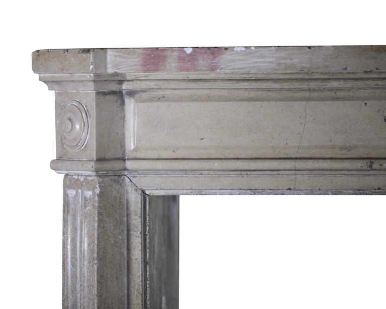 19th Century Antique Fireplace Mantel In Hard Stone For Sale At 1stdibs