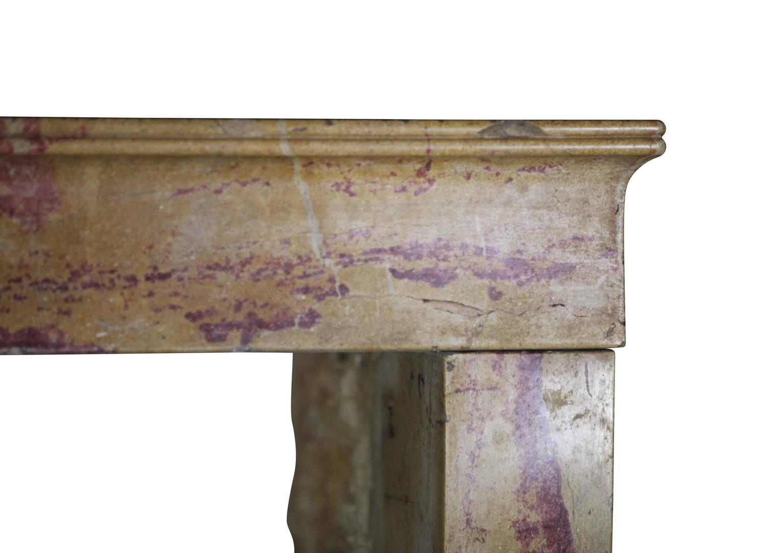 19th Century Antique Fireplace Mantel Wood Color For Sale At 1stdibs