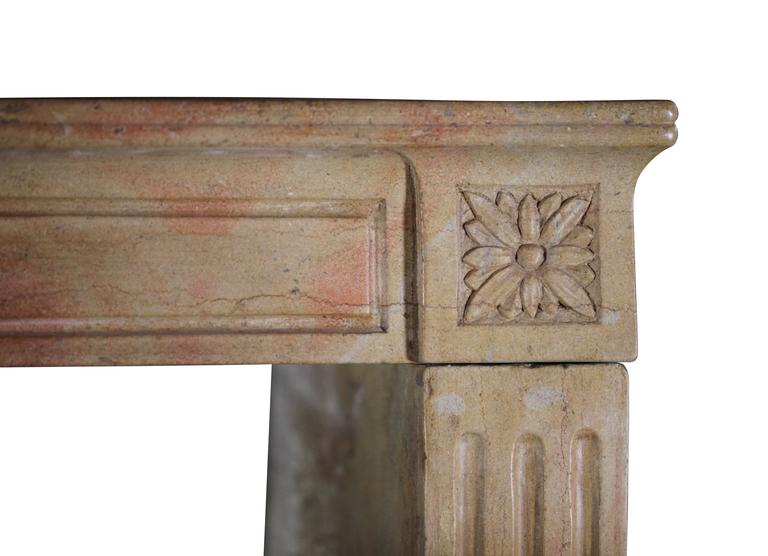 19th Century Marble Stone Antique Fireplace Mantel For Sale At 1stdibs