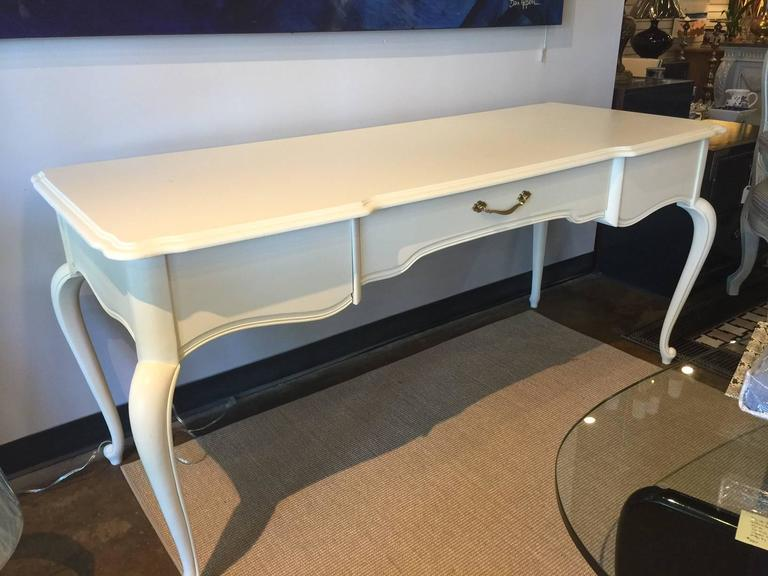 Graceful And Spacious French Style Bassett Desk For Sale