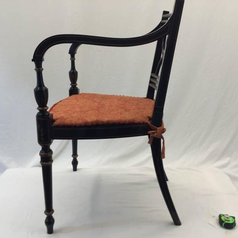 Baker Dining Chairs 10 Side Two Captains For Sale At 1stdibs
