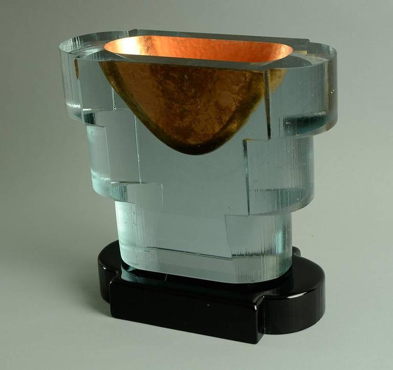 """""""Copper Guggenheim"""" Sculpture by John Lewis 4"""