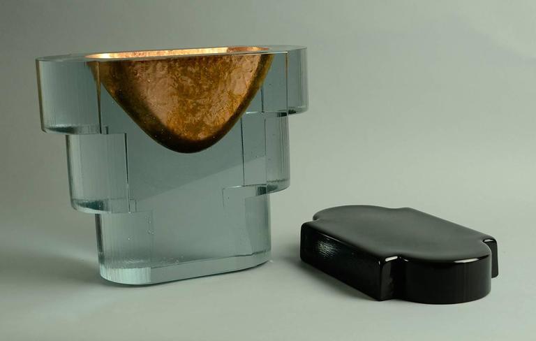 """""""Copper Guggenheim"""" Sculpture by John Lewis 3"""