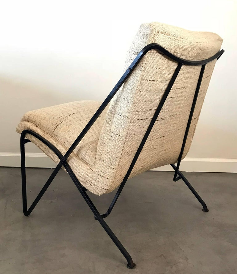 Rare Maurizio Tempestini Lounge Chair for Salterini In Excellent Condition For Sale In Las Vegas, NV