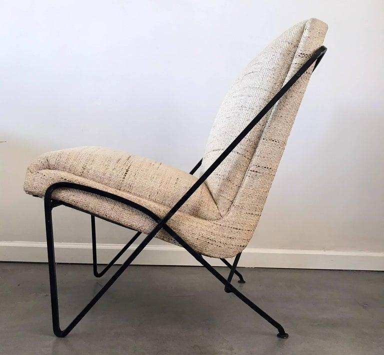 Mid-20th Century Rare Maurizio Tempestini Lounge Chair for Salterini For Sale