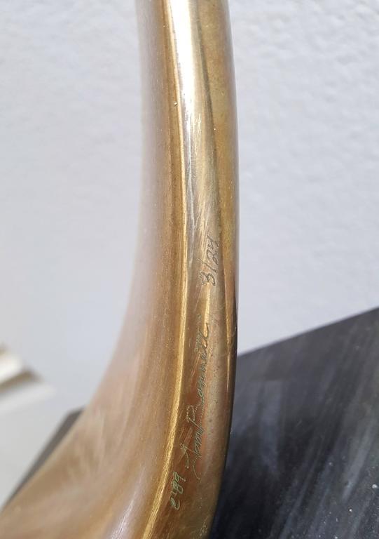 Monumental Tom Bennett Brass Sculpture Expressway LG For Sale 1