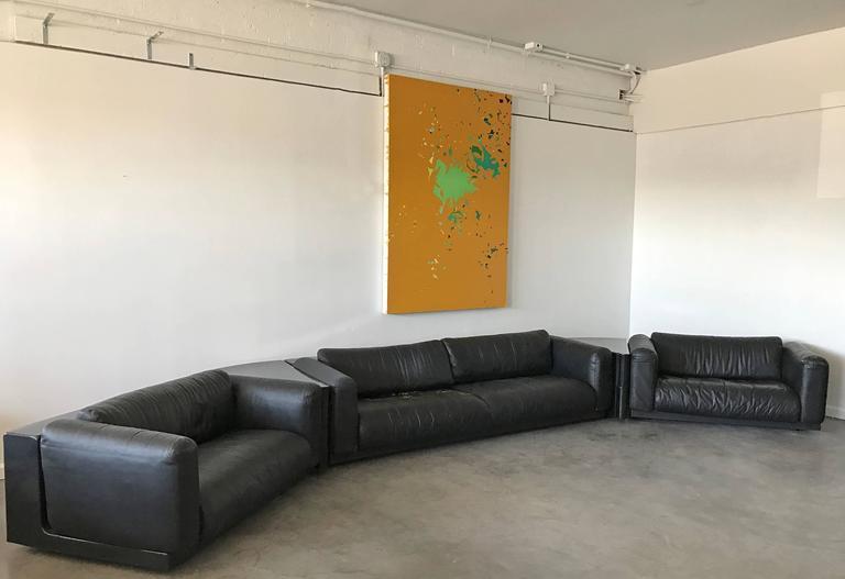 Cini Boeri Five Piece Gradual Sectional Sofa System For
