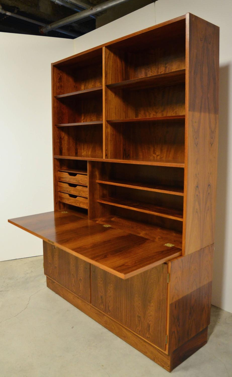 mid century bookcase mid century modern rosewood bookcase for 11437