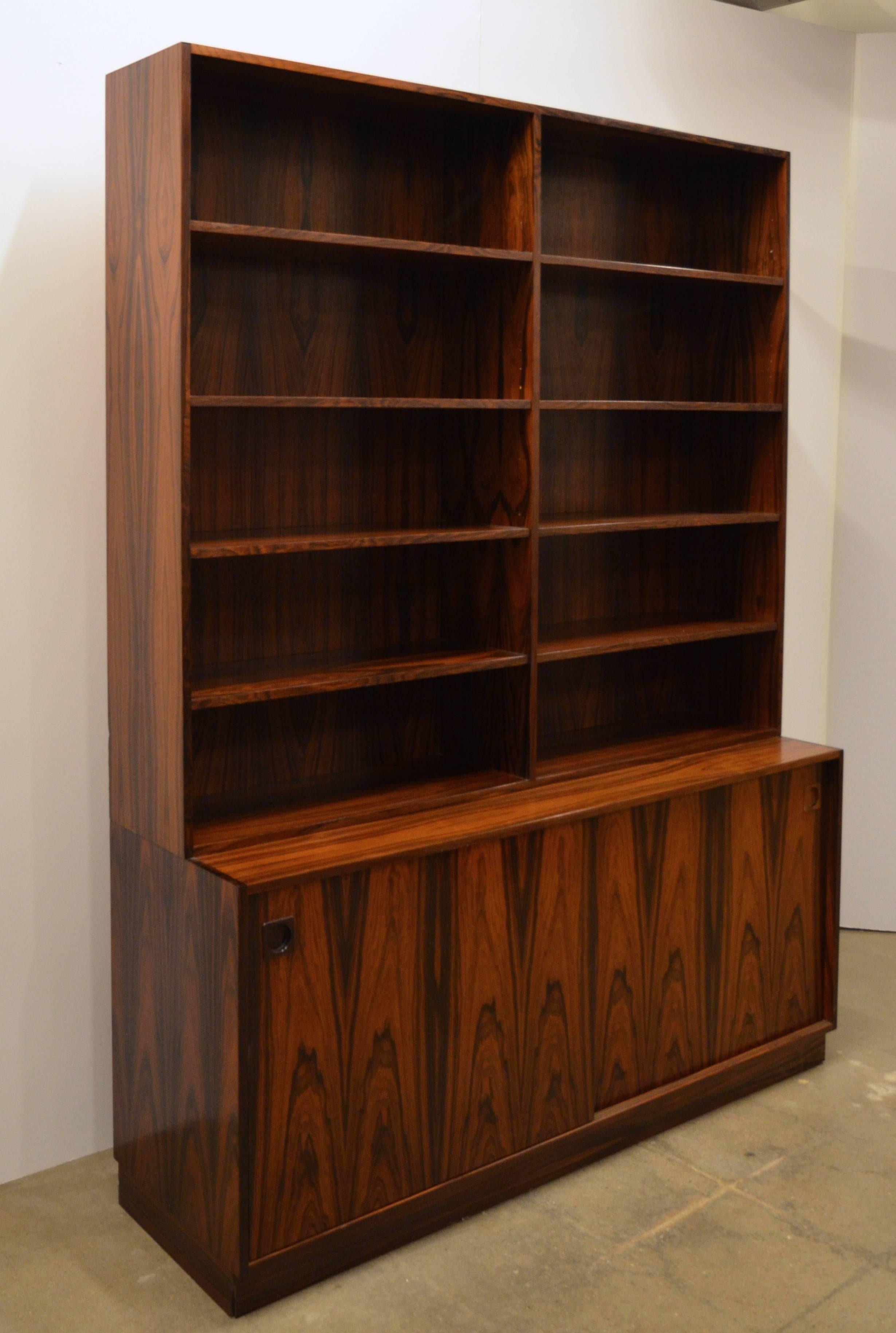 bookcase home lighted modular creek group office furniture bookcases cherry iteminformation x hooker