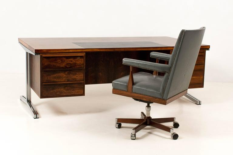 magnificent mid-century modern office chairtheo tempelman