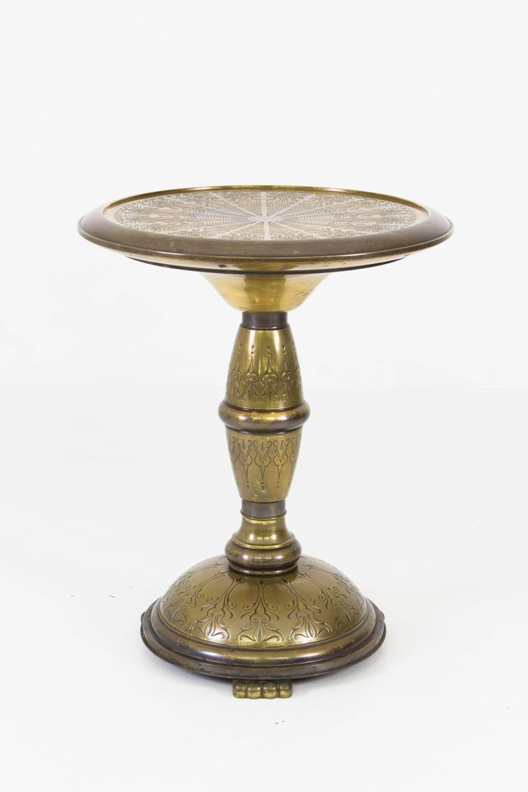 dutch art deco brass occasional table 1930s for sale at. Black Bedroom Furniture Sets. Home Design Ideas