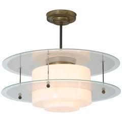 Art Deco Gispen Giso Pendant Lamp by W.H. Gispen, 1931