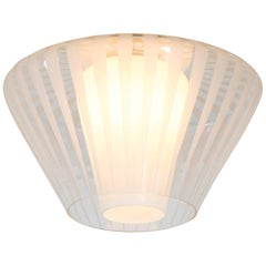 Four Dutch Mid-Century Modern Ceiling Lights Type NGR 49 E/00 by Philips, 1961
