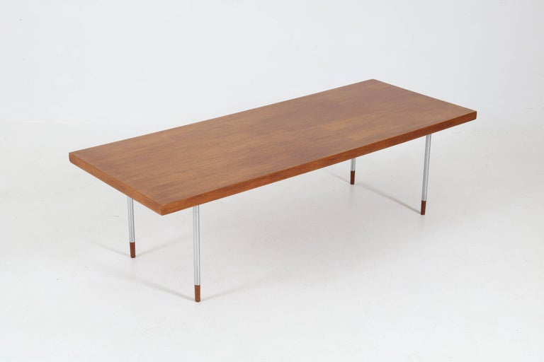 Dutch Teak Mid-Century Modern Coffee Table by Rudolf Bernd Glatzel for Fristho, 1960s For Sale