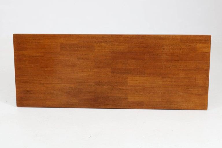 Mid-20th Century Teak Mid-Century Modern Coffee Table by Rudolf Bernd Glatzel for Fristho, 1960s For Sale