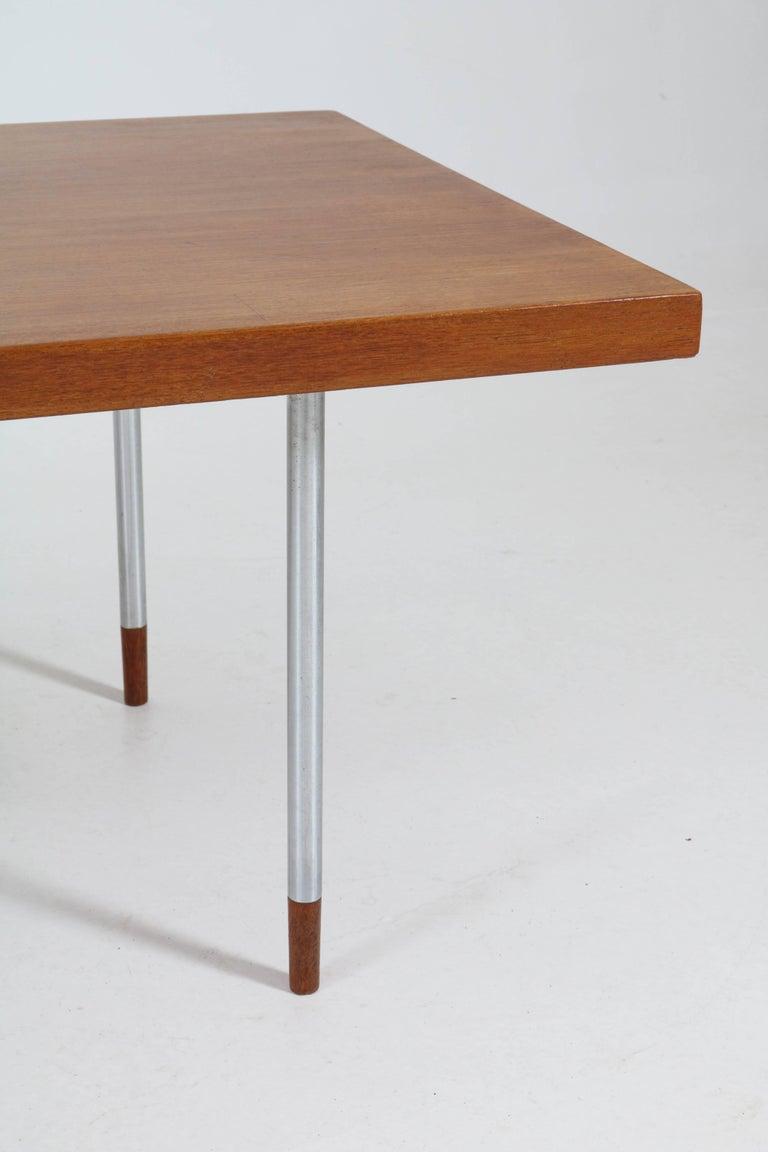 Teak Mid-Century Modern Coffee Table by Rudolf Bernd Glatzel for Fristho, 1960s For Sale 1