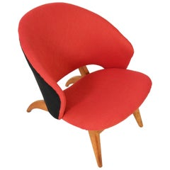 Dutch Mid-Century Modern Lounge Chair by Theo Ruth for Artifort, 1950s