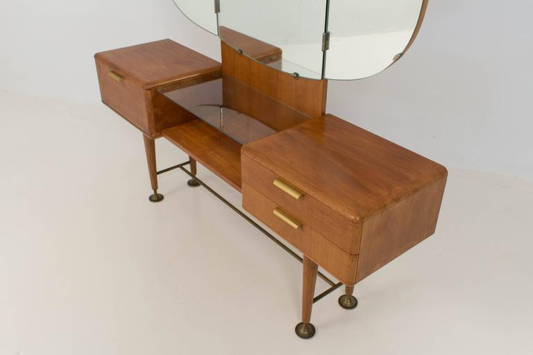 Rare Mid Century Modern Vanity Or Dressing Table By A A Patijn For