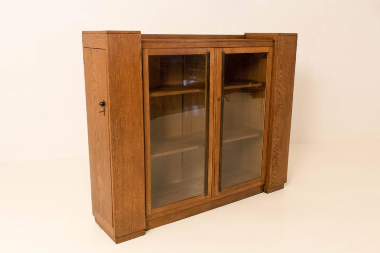 bookcases with doors for sale