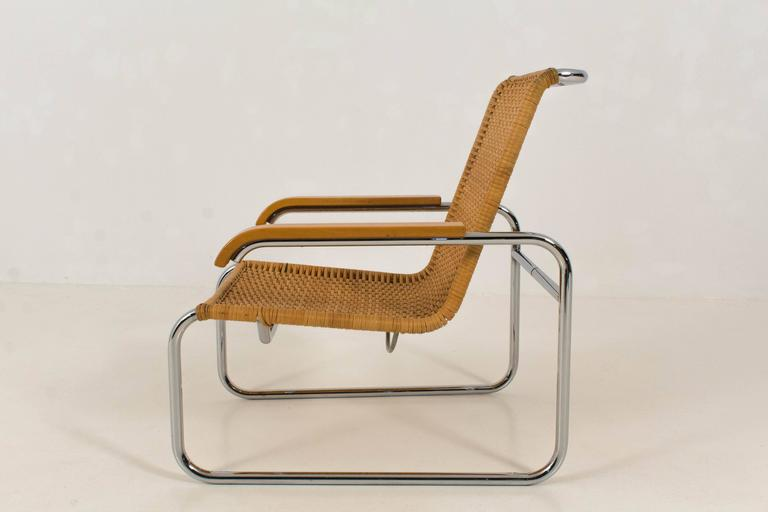 Marcel Breuer Stoel : B lounge chair by marcel breuer for thonet s at stdibs