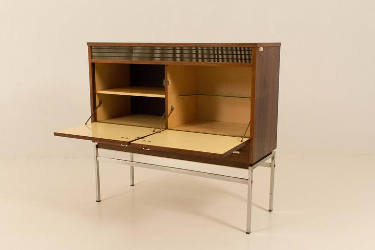 Danish Modern Bar Cabinet Stylish Midcentury Modern Bar Cabinet Belgium 1960S At 1Stdibs