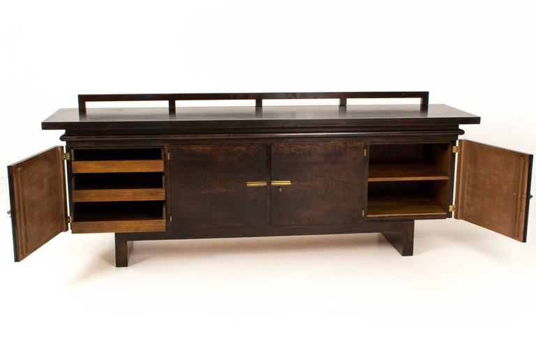 Sideboards Berlin and important deco bauhaus sideboard or credenza by bruno