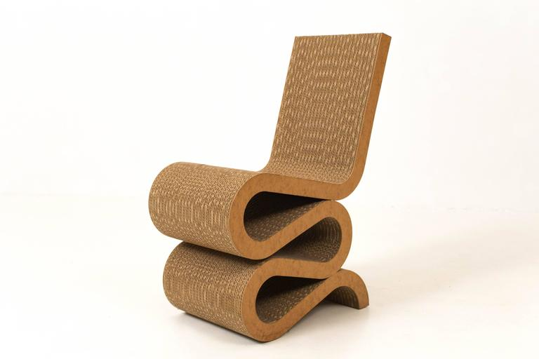 Wiggle Side Chair By Frank Gehry 1972 At 1stdibs