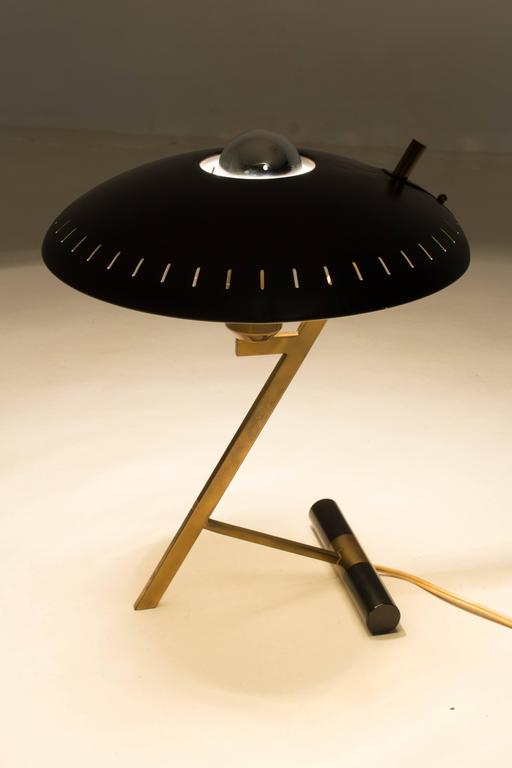 Z Shaped Table Lamp By Louis Kalff For Philips 1950s At