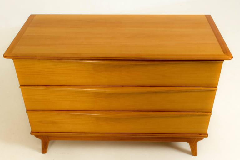 Stylish Mid-Century Modern Organic Commode, 1970s For Sale 1