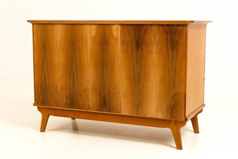 Stylish Mid-Century Modern Organic Commode, 1970s For Sale 2