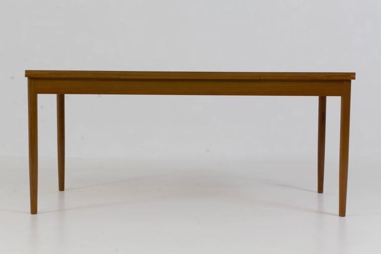 Beau Large Danish Mid Century Modern Extending Dining Table, 1960s