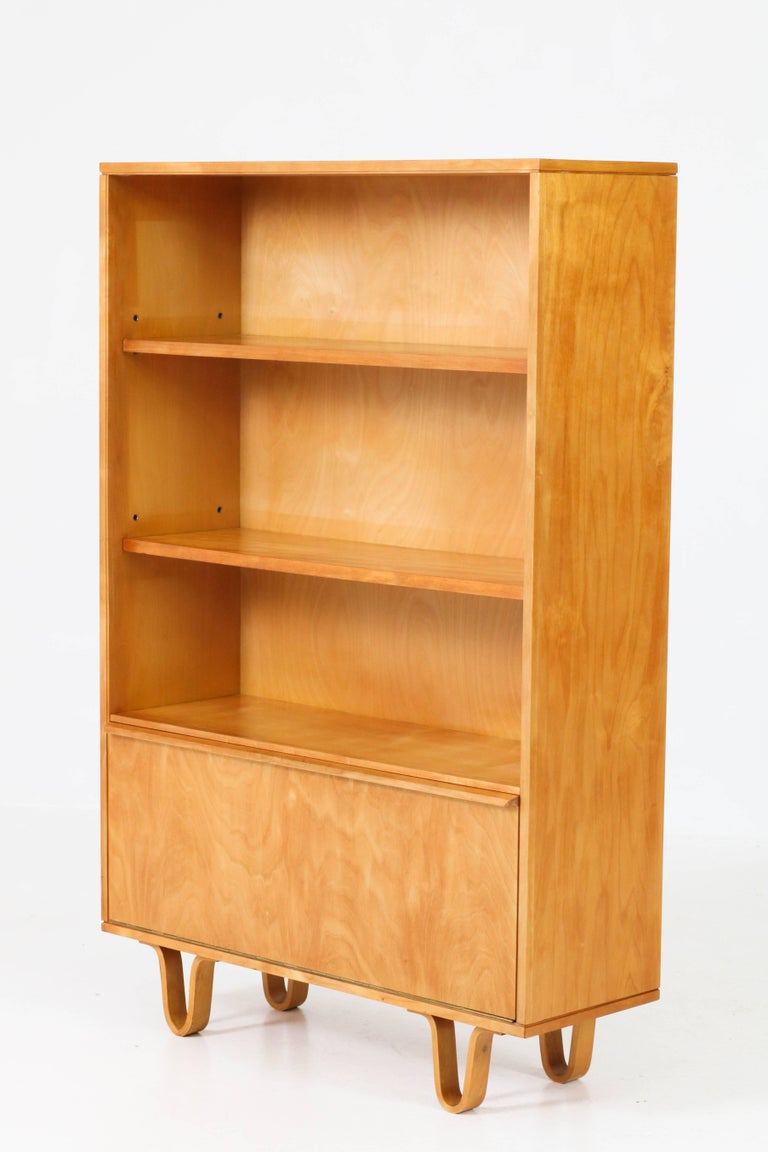 birch bookcases bookshelf office furniture pin combination of made storage plywood and from bookcase make